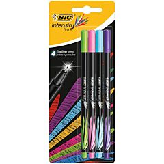 Set Fineliner Intensity Fun, varf 0.8 mm, 4 bucati