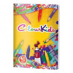 Caiet 40 file Colour K.ids