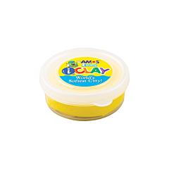 Plastilina iClayAmos, 18 grame, Galbena