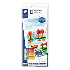 Set vopseluri pe baza de apa Staedtler, 12 culori