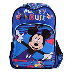 Ghiozdan Clasa 0 Disney Mickey Mouse, albastru multicolor, Pigna