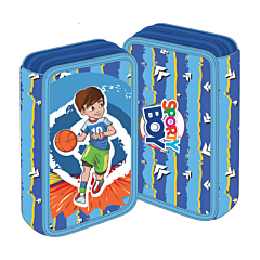 Penar neechipat 3 fermoare Sporty Boy Basket