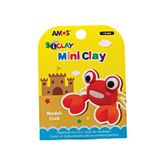 Plastilina iClay Amos, model crab