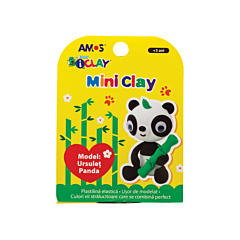 Plastilina iClay Amos, model panda
