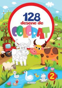 128 Desene de colorat 2
