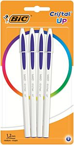 Set pixuri Cristal Up BIC, varf 1.2 mm, 4 bucati