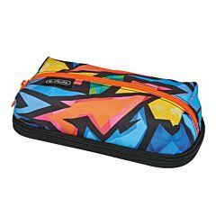 Penar necessaire Clever Pack, un compartiment, poliester, motiv Neon Art, Multicolor