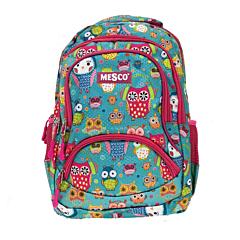 "Rucsac 14.5"" cu spate ergonomic Mesco, 3 compartimente, Multicolor"