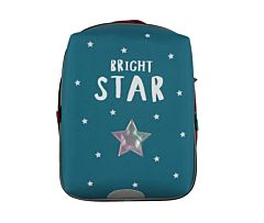 Ghiozdan Cameleon Rosu Bright Star, 40cm, Carrefour