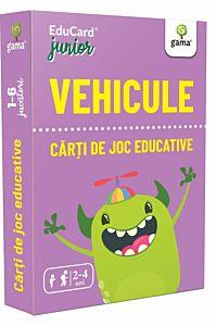 Carti de joc educative junior. Vehicule