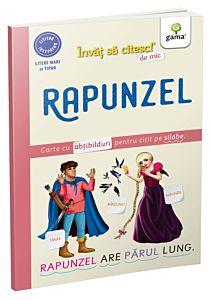 Invat sa citesc de mic. Rapunzel