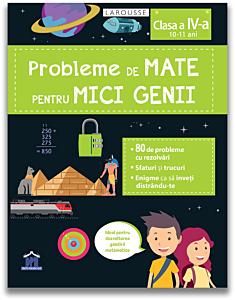 Probleme de mate pentru mici genii - clasa a IV-a (10-11 ani)