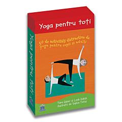 Yoga pentru toti - 50 de activitati distractive de yoga pentru copii si adulti