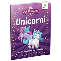 Ador sa colorez - Unicorni