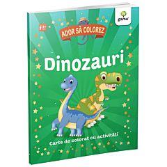 Ador sa colorez - Dinozauri