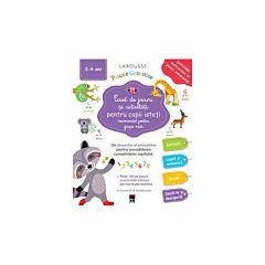 Caiet de jocuri si activitati pentru copii isteti (recomandat pentru grupa mica)