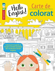 Hello English! Carte de colorat