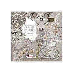 Animale fantastice. Carte de colorat pentru adulti