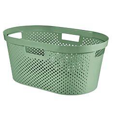 Cos depozitare multifunctional Curver Infinity, plastic reciclat, 40L, 26.5x58.5x38cm, Verde