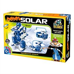 Robot solar 3 in 1 , D-Toys