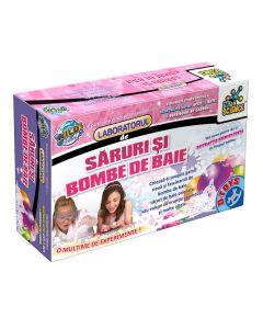 Laboratorul de saruri si bombe de baie, D-Toys