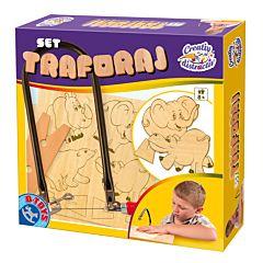 Joc creativ-Set de traforaj, D-Toys