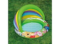 Bazin bebe cu parasolar Intex, vinil, 102x69 cm, Multicolor