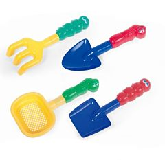 Set 4 jucarii pentru nisip, Multicolor