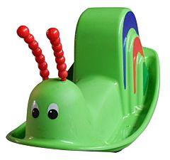 Balansoar in forma de melc, verde