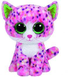Jucarie plus Ty Sophie - Pisica roz 24 cm