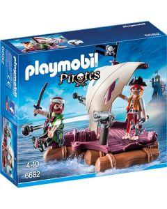 Pluta cu pirati, Playmobil