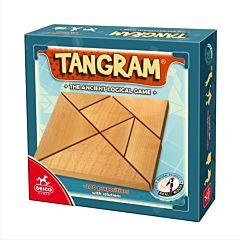 Joc Tangram lemn, D-Toys