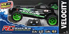 Masina functionala de viteza Buggy, cu telecomanda, 1:14, Verde/Negru