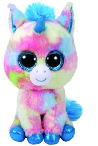 Jucarie plus Ty Pixy Unicorn 15 cm