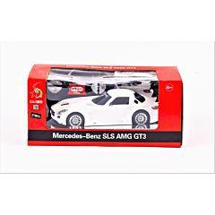 Masina cu telecomanda Mercedes Benz SLS AMG GT3, Alb
