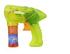 Pistol cu lumini pentru baloane de sapun, cu solutie inclusa