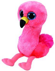 Jucarie plus Ty Gilda Flamingo roz 15 cm