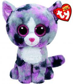 Jucarie plus Ty Lindi - Pisica roz 24 cm
