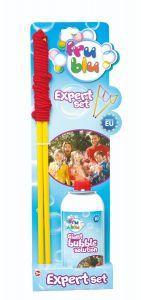 Set baloane de sapun cu snur Expert si solutie 0.5 L Fru Blu