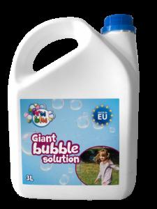 Rezerva lichid pentru baloane de sapun 3 L Fru Blu