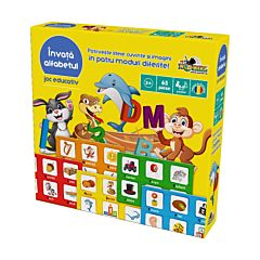 "Joc educativ ""Invata alfabetul"""