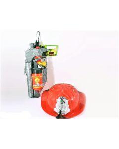 Set casca cu accesorii pompier