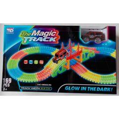 Circuit magic cu lumini 169  piese