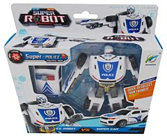 Robot - masina politie