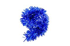 Beteala dantelata, 10 cm x 2 m, PVC, Albastru