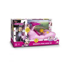 Masinuta cu telecomanda Minnie's Pink Bow RC