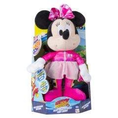 Plus Minnie Happy Helpers RR cu functii, 35 cm