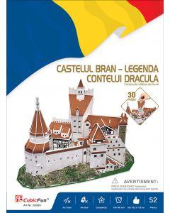 Puzzle 3D Castelul Bran