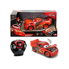 Masinuta cu radiocomanda Lightning McQueen Crazy Crash RC Cars 3