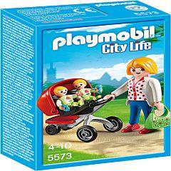 Carucior cu gemeni, Playmobil